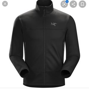 Arc'teryx men's jacket Arenite black fleece med